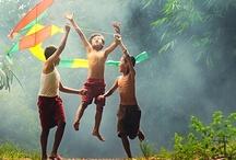 Innocence... / Innocent kids. Lovely smiles / by Randa Dawli