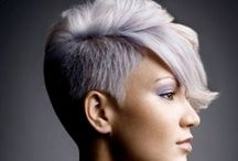 Edgy Cuts & Brilliant Color / Graceful Beauty & Vibrant Colors. All Type Of Haircuts