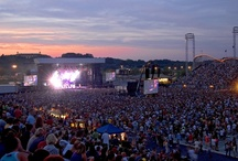 Hershey Entertainment / Hershey Entertainment is a premier concert destination, which includes Giant Center, Hersheypark Stadium, The Star Pavilion, Hersheypark Arena, Hershey Theatre and shows inside Hersheypark.