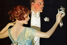Wyeth,Pyle,Leyendecker / With a nod to D. Cornwell, M. Schaeffer, J.M. Flagg, H.C. Christy. F. Schoonover, N. Rockwell, H. Fisher. The age of classic illustrators. Pinning politely is appreciated. / by Elizabeth Finney