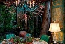 Boho/Bohemian Style, Decor and Lifestyle / I love the Boho style, so free from rules, so colorful, and so comfortable looking. / by Susan England