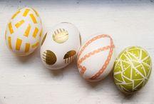 eggs + bunnies
