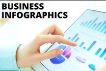Business Infographics / Information is a beautiful thing.. especially when formatted like these fab infographics!