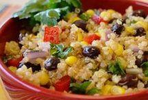 Quinoa dishes / Dishes (hot & cold) using Quinoa