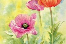 Art - Water colors / water colors / by Karen Froese Spotts