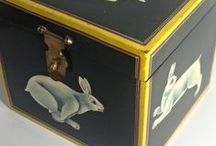 Primitive and Americana Art / Cool handmade crafts and art, shabby chic and a lot more.