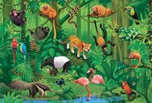 RU animaux jungle