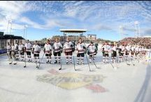 Hershey Bears / The Hershey Bears are the most stored franchise in the American Hockey League history. They boast the most Calder Cup victories and continue to lead the league in regular season attendance.
