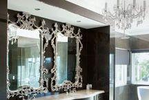 Glam / Glamorous interior design and decor inspiration