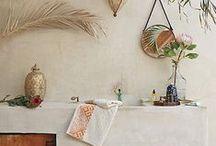 Bohemian / Bohemian interior design and decor inspiration