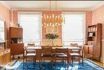 Mid Century / Mid Century interior design and decor inspiration
