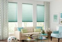 'Inspired Drapes' / Draperies create beautiful everyday environments and allow you to color your world in a very personal way! Vivid color or calming neutrals - every choice is a statement.  Our panel window curtains offer you an instant decorating upgrade and color without commitment if you like to follow color and fabric trends. Additionally, your local style consultant can help you design custom drapery, from trendy to modern or traditional, to fully dress your windows making your home uniquely your own