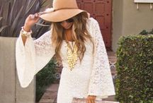 BoHo Glam + Meets Me / My Style is Bohemian mixed with Glitzy Glam (very feminine) ...with a little California Casual mixed in, just for the weekends. / by Monica Ebrahimi