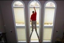Daring Installations! / DO NOT ATTEMPT THIS AT HOME! Call Budget Blinds!  / by Budget Blinds - Official