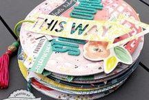scrapbooking: Mini scrap/tag Albums