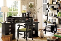 Office / Craft Room / Study / by Anne Holstead