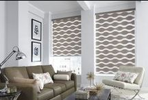 Roller Shades / Roller shades are one of our more popular and highly customizable window shades. They are available in a wide variety of colors and fabrics, with diverse light-filtering options for greater flexibility when it comes to controlling light.  / by Budget Blinds - Official