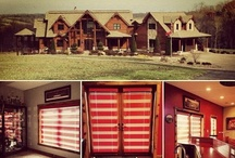 Log Cabin Window Treatments / Beautiful log cabin home installations by Budget Blinds / by Budget Blinds - Official