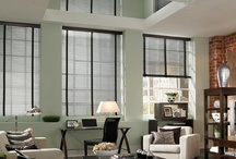 Aluminum Blinds / Aluminum blinds are light, versatile, and come in larger slat sizes for a more dramatic view. Our motorized blinds powered by Somfy® offer a convenient solution for natural light management. / by Budget Blinds - Official
