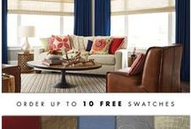 Free Design Guide, Free Swatches, and the Best Warranty! / Choose how you'd like your FREE 40 Page Design Guide delivered: Online, mail, or with a scheduled free in-home consultation. http://www.budgetblinds.com/design-guide/