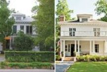Porch Before and Afters / We love the curb appeal that porches can add to homes and these dramatic before-and-afters just prove it! / by Mary @ Front Porch Ideas and More