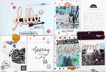 scrapbooking: Project life