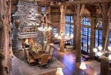 cabin decor / by Gigi O'Connell