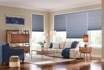 Cellular Shades / Cellular shades are one the most versatile window coverings on the market. Their luxurious fabrics are available in three popular cell sizes and various light control levels so that you can create the perfect setting.