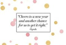 Cheers to the New Year! / by Anne Holstead