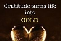 The Magic of Gratitude / A collection of quotes from The Secret to help inspire people about using the magic of gratitude to manifest all your dreams.