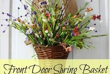 Spring Wreaths / Bring on the colors of spring with a new wreath (or 2, or 3...) that captures the season of new growth and warmer temperatures! / by Mary @ Front Porch Ideas and More