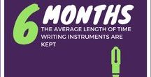 Write Away / Tried and true, Writing Instruments offer the best PPI (price per impression) of any promo product.