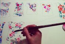 illustration inspiration / I wish I could draw. / by Karyn M.