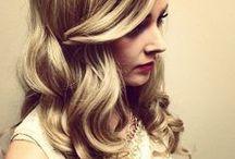 Hair Inspiration / Hair everywhere.