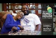 Family House Diaries / Family House Diaries is a storytelling series that focuses on the stories of patients and their families who live in the SECU Family House at UNC Hospitals while receiving or awaiting treatment.