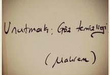 My terrible handwriting