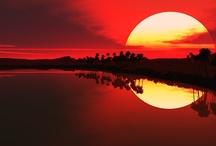SUNRISES AND SUNSETS / Beautiful photos of sunrises and sunsets.