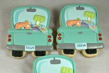 Cookies - Cars, Trucks & Tools / by Jennifer Sorenson