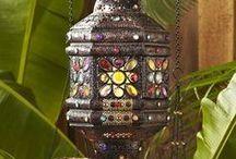 Beautiful Morrocan Lanterns/Lighting / by Wendy