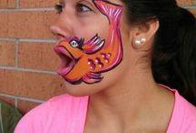 face painting / by Arleen Elizabeth Moret