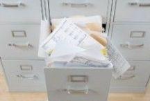 clean up/ organize / by Arleen Elizabeth Moret