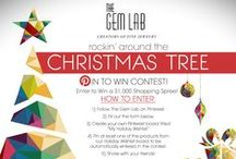 Rockin' Around The Christmas Tree / Enter our Pin To Win contest by visiting https://www.facebook.com/TheGemLab/app_199909830142802 for a chance to win a $1,000 Gem Lab gift card!