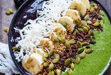 Smoothie Bowl Recipes / Smoothie bowls are like having ice cream for breakfast.  Smoothie bowls are a great way to give you ENERGY to keep up with your busy day.  Plus kids love them!