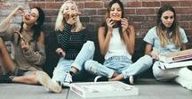 Garotas - Comidinhas