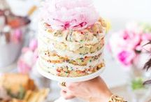 Cake Pedestals / Who knew the humble cake pedestal could elevate such creativity for parties, gatherings or displays, inside and outside the home. When I decided to dedicate an entire board to the category 'cake pedestals' I had know idea that I would find so many beautiful inspiring ideas and photographs. To be completely honest I only own a single cake pedestal, but I do intend on starting a small collection. I have also learned  that in a pinch I could get crafty and create my own make shift pedestal. It truly does make everything on and around it look much more glamorous!