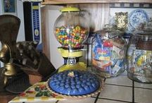 peanut & gum machines / by Brenda Crawford