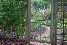 Garden  doors,gates & arches / by Brenda Crawford