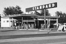 old gas stations / by Brenda Crawford
