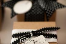 thuis met Moon * labels & inpakken / mooi ingepakte cadeautjes en inspirerende labels / by Thuis met Moon