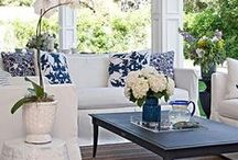 Peaceful Porches / There is something romantic and evocative about a porch.  You can just imagine sitting there and watching the world go by.  Here are some porches that I particularly love.
